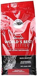 World's Best Cat Litter, Multiple Cat Clumping Formula, 7 lbs.