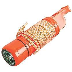 Coleman 5-in-1 Survival Whistle (Orange)