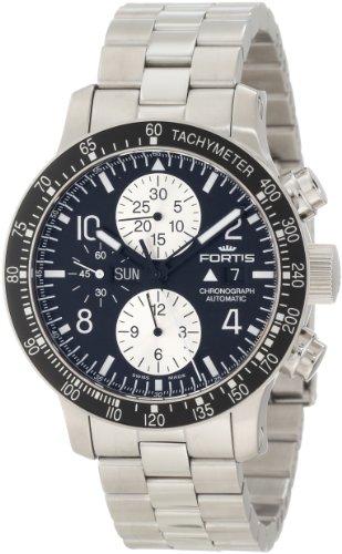 Fortis 665.10.11M - Reloj de pulsera hombre, acero inoxidable