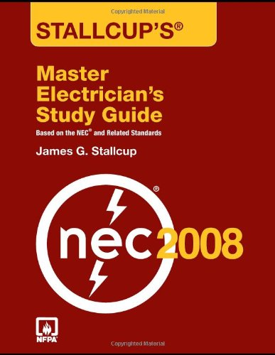 Stallcup's Master Electrician's Study Guide, 2008 Edition - Jones and Bartlett Publishers, Inc. - 0763752576 - ISBN: 0763752576 - ISBN-13: 9780763752576