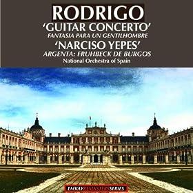 Guitar Concerto: Concierto De Aranjuez: II. Adagio (Aranjuez mon amour)