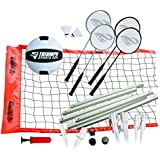 Triumph Sports Volleyball/ Badminton Combo Set