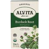 Alvita Teas Burdock Root Tea, Organic, 24 Count