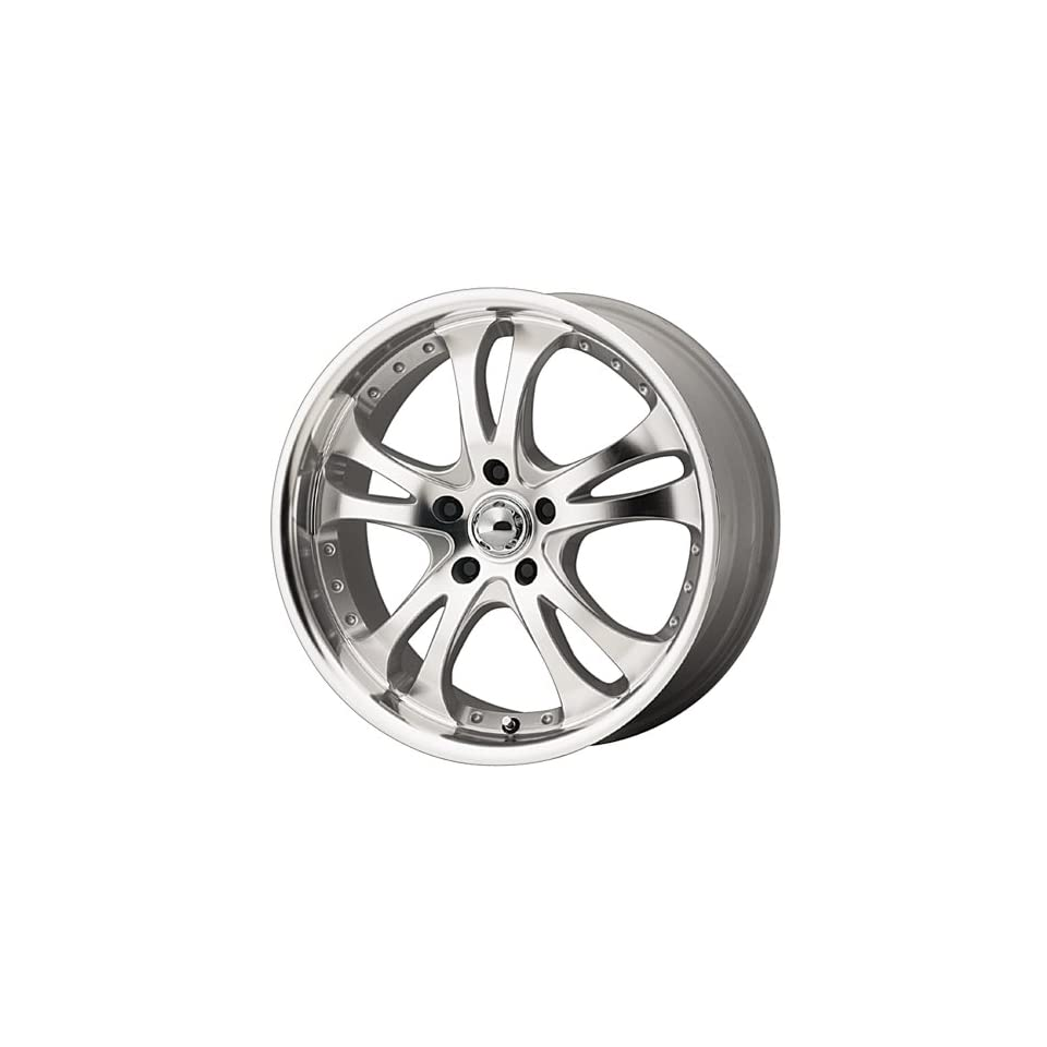 American Racing Custom Wheels AR383 Casino Silver Wheel (16x7/5x114.3mm, +42mm offset)