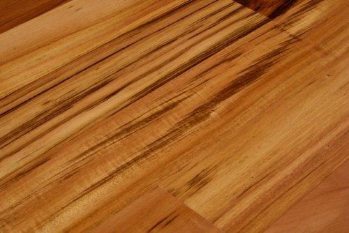 Tigerwood Brazilian Koa Plank Solid Prefinished Hardwood