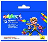 Adeland Wax Crayon Pack of 12