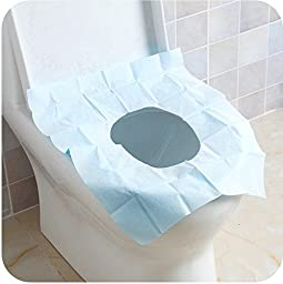 10 pc disposable toilet mat, Travel Travel waterproof toilet paper
