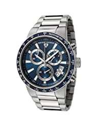 Swiss Legend Men's 10057-33-BLB Endurance Collection Chronograph Stainless Steel Watch