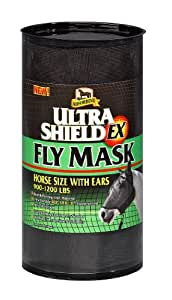 Absorbine Ultrashield Fly Mask with Ears Horse