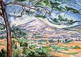 絵画 セザンヌ サン・ヴィクトワール山2