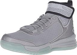 adidas Men\'s Dual Threat BB Light Onix/Black/White Sneaker 17 M