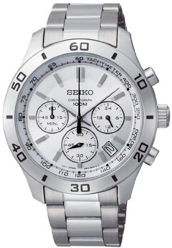 Seiko Chronograph Men'S Quartz Watch Ssb047
