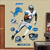 Calvin Johnson Detroit Lions NFL Fathead REAL.BIG Wall Graphics