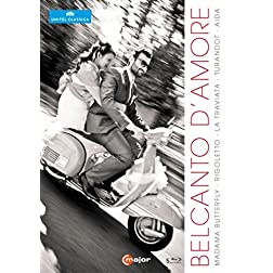Belcanto Amore Italian Operas [Blu-ray]