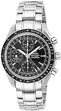[オメガ]OMEGA 腕時計 スピードマスター ブラック文字盤 自動巻 クロノグラフ 3220.50 メンズ [並行輸入品]