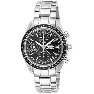 [オメガ]OMEGA 腕時計 スピードマスターデイデイト ブラック文字盤 自動巻 クロノグラフ 3220.50 メンズ 【並行輸入品】
