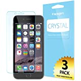 iPhone 6 Screen Protector, Spigen® [Full HD] [Crystal Clear][3-PACK] JAPANESE BASE PET FILM High Definition (HD) Premium Ultra Clear Screen Protector for iPhone 6 (2014) - Crystal CR (SGP10927)