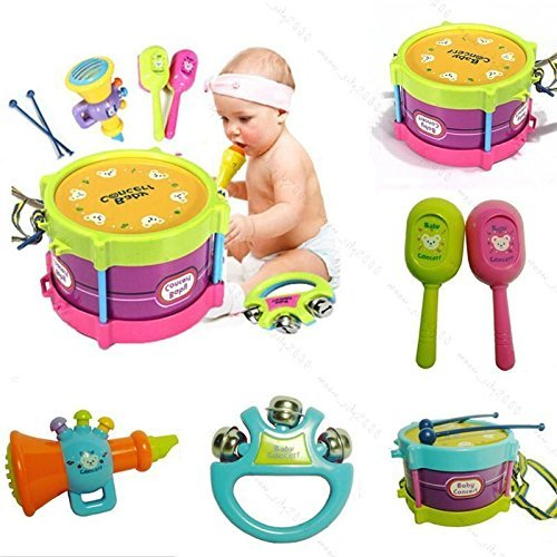hot-selling newest 5pcs Kids Roll Drum Musical Instruments B