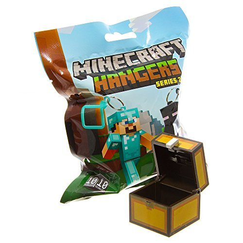 Official Minecraft Exclusive CHEST Toy Action Figure Hanger - 1