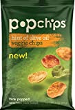Popchips veggie chips OLIVE OIL, share bag 3 Ounce (Pack of 12)