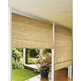 This Rollup Blind Is Perfect to Cover Any Outdoor Porch or Patio Window. Providing Shade in Any Exterior Space and Protection From the Sun. Eliminates the Need for a Shutter While Allowing Partial Light Through. Adjustable Roller Allows Many Heights to Ac