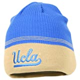 NCAA 2-Tone Rack Stitched Winter Knit Beanie Hat (UCLA Bruins) at Amazon.com