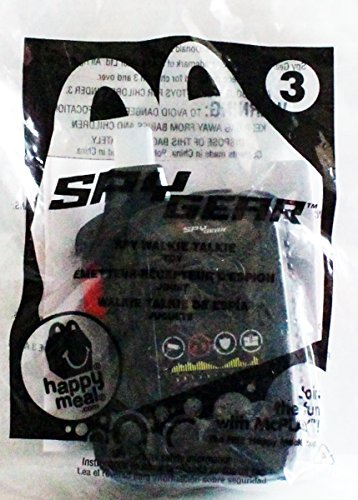 McDonad's Happy Meal Toy #3 Spy Gear Spy Walkie Talkie - 1