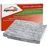 2 Pack - EPAuto CP134 (CF10134) Honda & Acura Premium Cabin Air Filter includes Activated Carbon