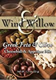 Wind and Willow Greek Feta & Olive Cheeseball & Appetizer Mix - 1.2 Ounce (4 Pack)