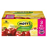 Mott's Original Applesauce, 4 oz cups (Pack of 18)