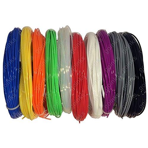 10M-Arc-en-Ciel-chantillons-Pack-Imprimante-3D-Filament-10-Couleurs-PLA-175mm