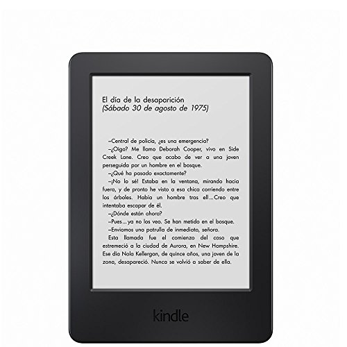 Kindle, pantalla táctil antirreflejos de 6'' (15,2 cm), Wi-Fi