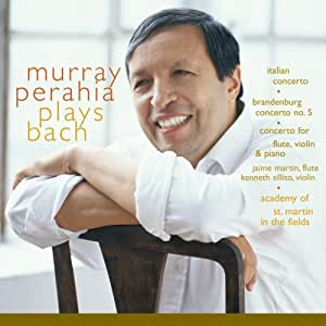 Perahia Plays Bach