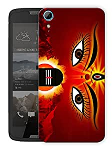 "Humor Gang Durga Maa Shiv Ji God Printed Designer Mobile Back Cover For ""HTC DESIRE 828"" (3D, Matte, Premium Quality Snap On Case)"