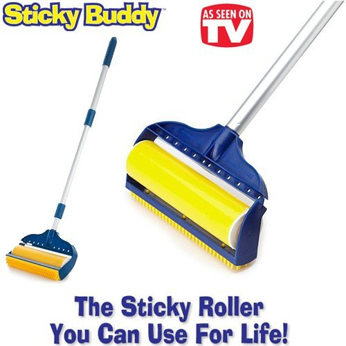 jumbo-sticky-buddy-reusable-washable-clothes-lint-pet-hair-fluff-remover-8-roller