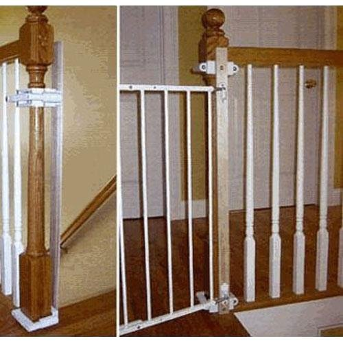 Safety Stairway Gate Installation Kit - 1