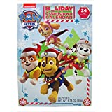 Christmas Advent Holiday Countdown Calendar with 24 Milk Chocolates (Nickelodeon PAW Patrol)