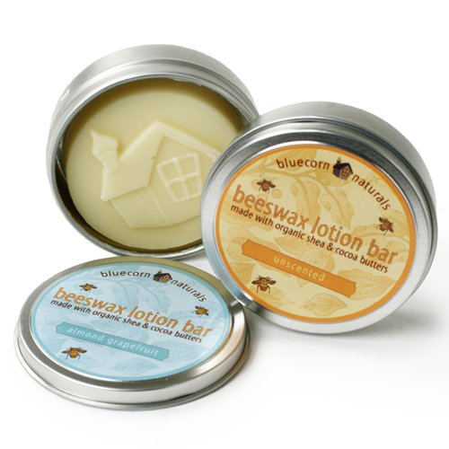 Beeswax Lotion Bar - Almond Grapefruit (1.5 ounce) by Bluecorn