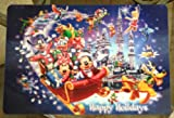 Disney Park Mickey Mouse and Pals Christmas Holiday Lenticular Placemat NEW