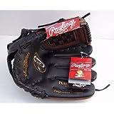 Rawlings Youth Synthetic Black Brown Baseball Glove (11) - Player Series - PL1109BPU by Rawlings
