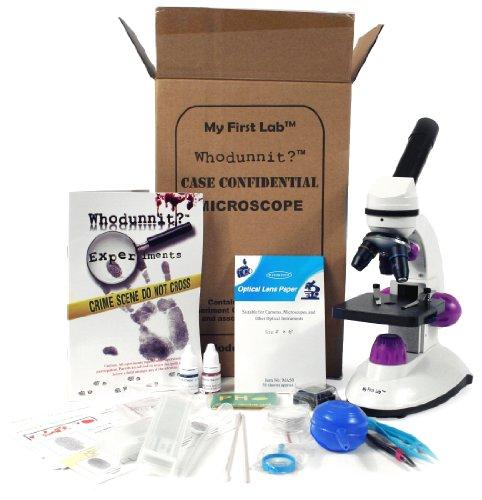 My First Lab Whodunnit? Complete Microscope Kit / Mfl-17