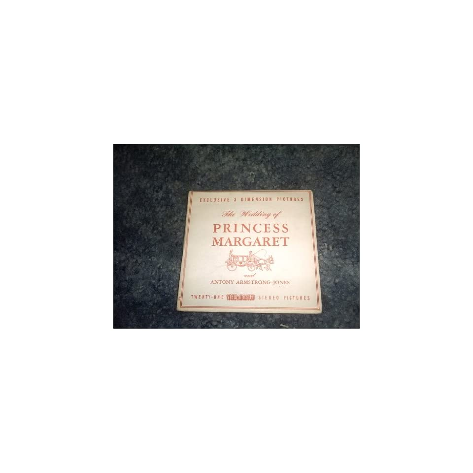 Wedding of Princess Margaret View Master Reels C280 SAWYERS Books