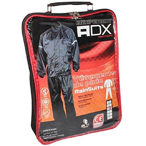 Veste et pantalon de pluie ADX - Noir