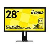 iiyama ゲーミング4Kディスプレイ モニター GB2888UHSU-B1 28型(1ms/3840×2160/DisplayPortx1/HDMIx2/HDMI(MHL)x1/D-subx1)