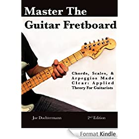 Master the Guitar Fretboard - Chords Scales & Arpeggios Made Clear! Applied Theory for Guitarists (English Edition)