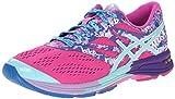 ASICS Womens Gel-Noosa TRI 10 Running Shoe, Pink Glow/Aqua Splash/Fuchsia, 7.5 M US