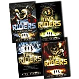 Alex Scarrow The Timeriders 4 Books Collection RRP: �30.72 (TimeRiders, The Eternal War , The Doomsday Code, Day of the Predator)by Alex Scarrow