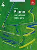 * OLD * ABRSM Selected Piano Exam Pieces 2011 - 2012 Grade 4