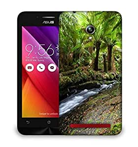 Snoogg Lake In Jungle Designer Protective Phone Back Case Cover For Asus Zenfone GO