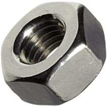 ASME B18.6.3 Plain 18-8 Stainless Steel Machine Screw Hex Nut